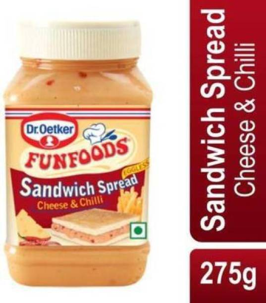 FUN FOODS SANDWICH SPREAD CHEESE & CHILLI 275 g