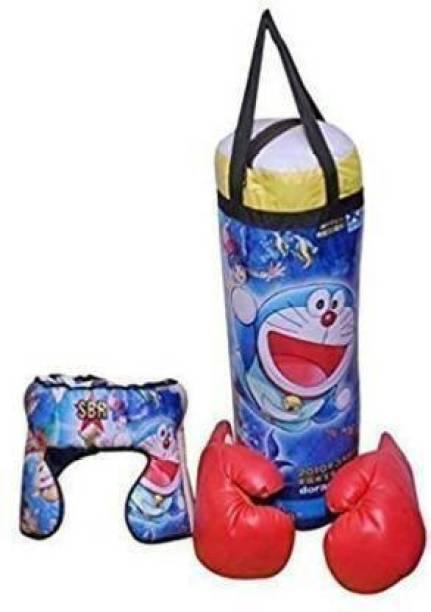 RCND Children Kids Boxing Set Kit Punching Bag, Boxing Kit Banana Bag Hanging Bag