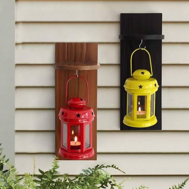 Being Nawab Multicolor Iron Hanging Lantern