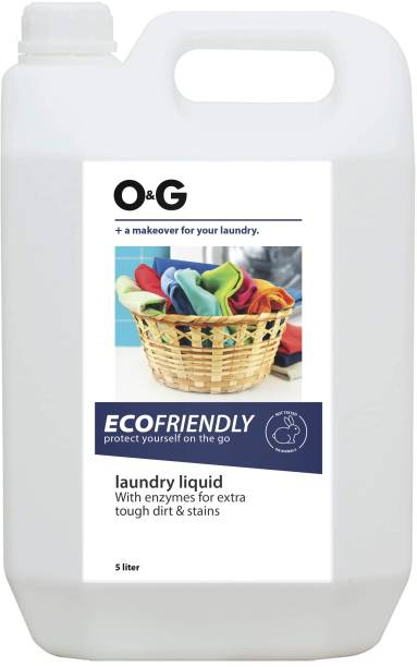 O&G Liquid Detergent For Top Load And Front Load Machine Eucalyptus Liquid Detergent