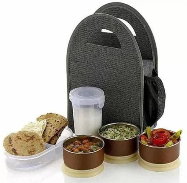 Mahadev Enterprise MHDETB 5 Containers Lunch Box