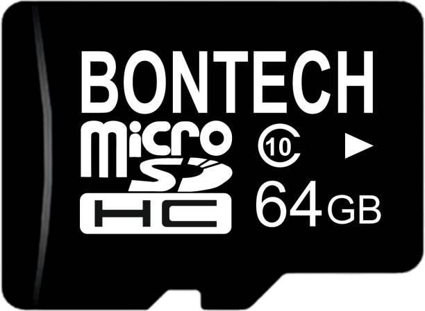 BONTECH 10X 64 GB MicroSD Card Class 10 100 MB/s  Memory Card