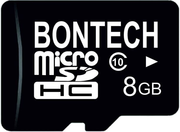 BONTECH 10X 8 GB MicroSD Card Class 10 100 MB/s  Memory Card