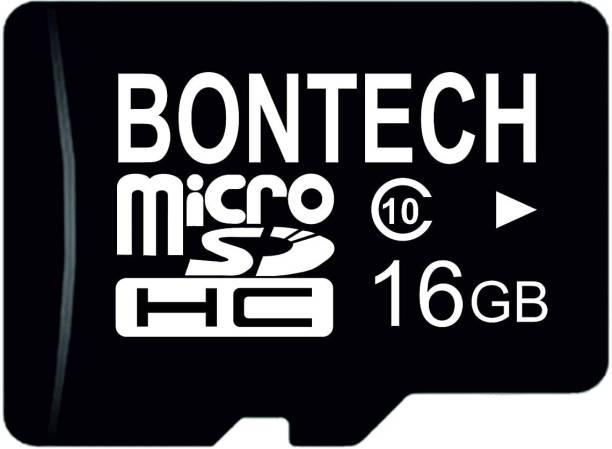 BONTECH 10X 16 GB MicroSD Card Class 10 100 MB/s  Memory Card