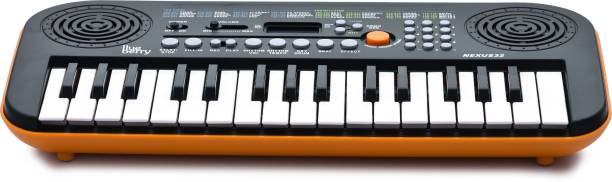 blueberry NEXUS 32 Orange Mini Digital Portable Keyboard