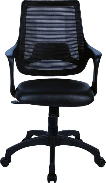 Flipkart Perfect Homes Sango Leatherette Office Arm Chair