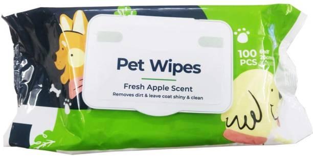 Pet Needs PNI-PA-TP-11-P4 Pet Ear Eye Wipes
