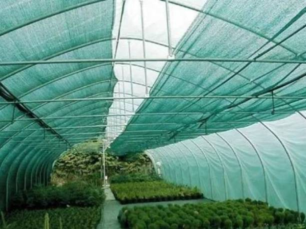 MAK 50% Green Shade Net 3m x 5m , Multi-Purpose Greenhouse Garden Nursery Shading Cloth - Blocks Sun Light Dust, Protect Flowers and Plants Portable Green House , Greenhouse UV Stabilized Net Portable Green House