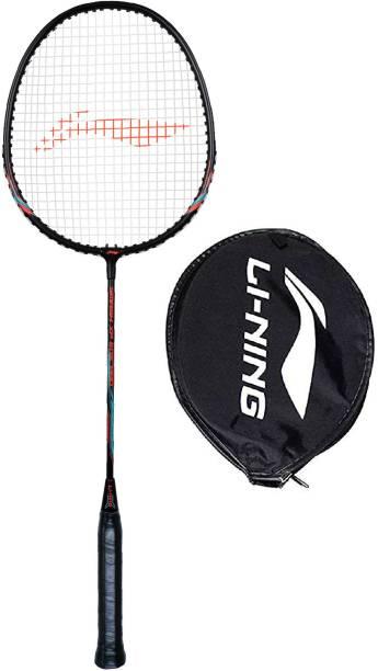 LI-NING Smash XP 505 Pro Black, Orange Strung Badminton Racquet