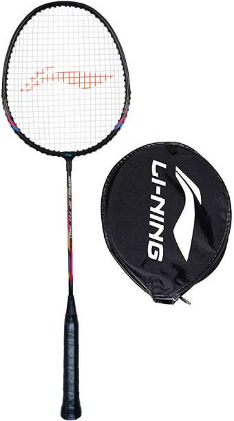 LI-NING Smash XP 777 Pro Black, Pink Strung Badminton Racquet