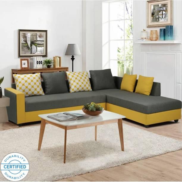 ARRA Riviera Right Facing Fabric 6 Seater  Sofa