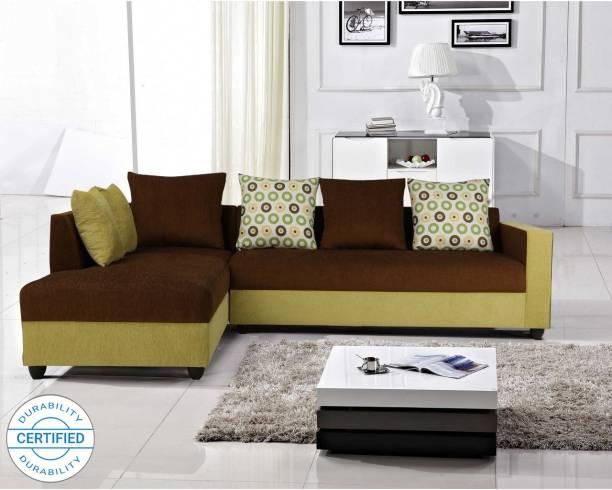ARRA Riviera Left Facing Fabric 6 Seater  Sofa