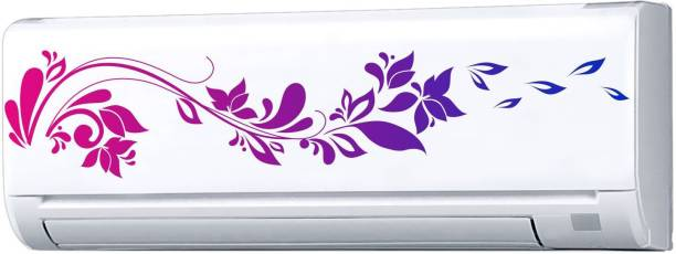 Decopix AC Sticker Fridge Sticker Wall Sticker Split Ac Stickers Air Conditioner Sticker - Standard Size (Fit for All Models / Sizes / Brands) (Vinyl, DP6080