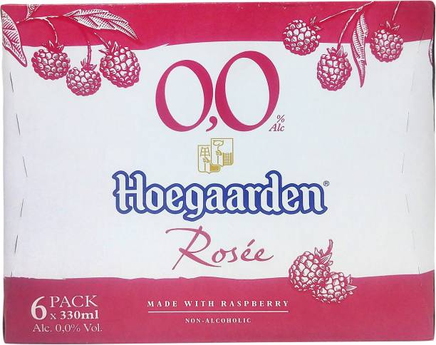 Hoegaarden Rosee Non Alcoholic 0.0% Beer Can