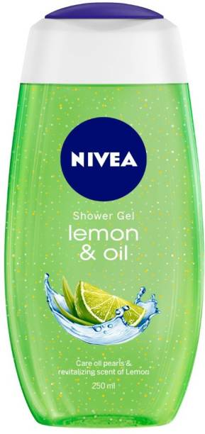 NIVEA Body Wash, Lemon & Oil Shower Gel, Pampering Care with Refreshing Scent of Lemon