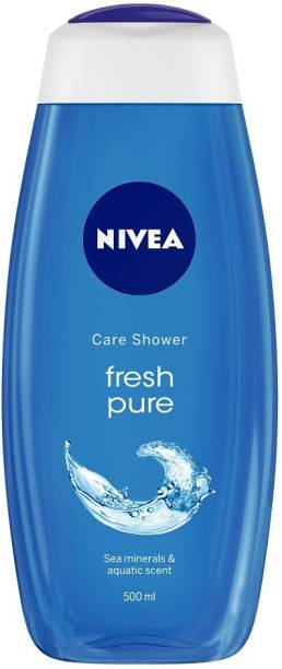 NIVEA Body Wash, Fresh Pure Shower Gel, Refreshing Aquatic Scent