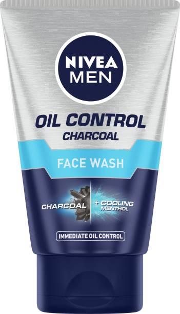 NIVEA MEN Oil Control Charcoal , 100ml Face Wash