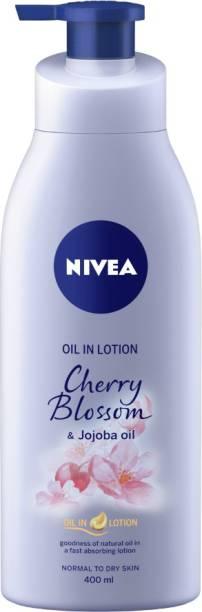 NIVEA Cherry Blossom and Jojoba Oil in Lotion