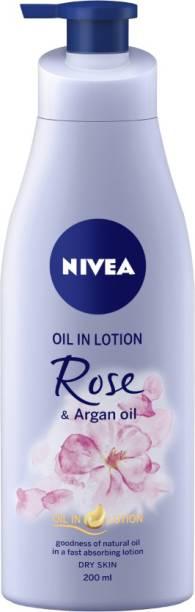 NIVEA Rose and Argan Oil in Lotion