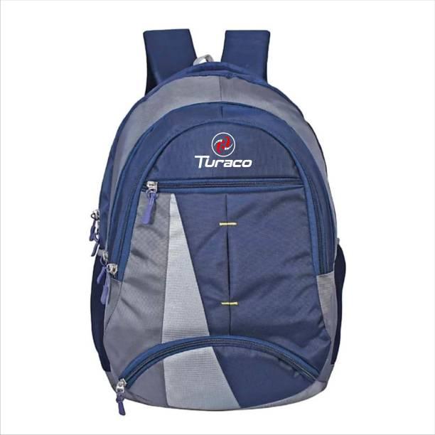 TURACO 1004 TRC Water Proof School Bag (Blue,30L) 30 L Backpack