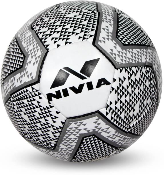 NIVIA Black & White Football - Size: 4