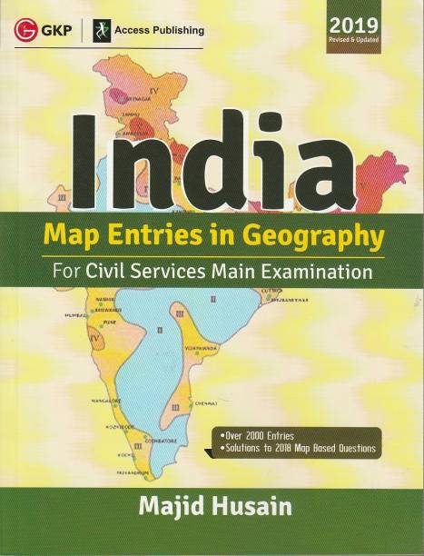 India Map Entries in Geography for Civil Services Main Examination 2019