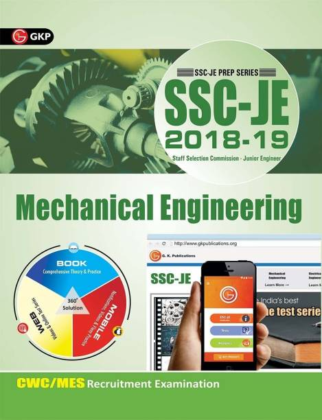 SSC JE 2020 : Mechanical Engineering - Guide - Junior Engineer Mechanical Recruitment 2018-19
