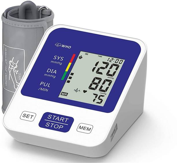 Pristyn care BP Monitor Digital BP Monitor|1 year Warranty| Digital Blood Pressure Monitor| Sphygmomanometer |Digital LCD Display Bp Monitor | Wrist B.P Monitor Bp Monitor