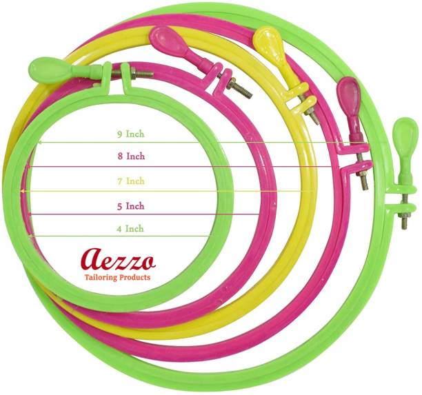 7 x 10 Inches Hoops 1 Pack