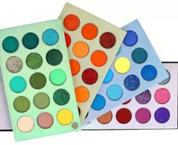 Neotis professional Eyeshadow Palette 60 Color Makeup Palette Highlighters Eye Make Up High Pigmented Professional Mattes and Shimmers. 60 ml