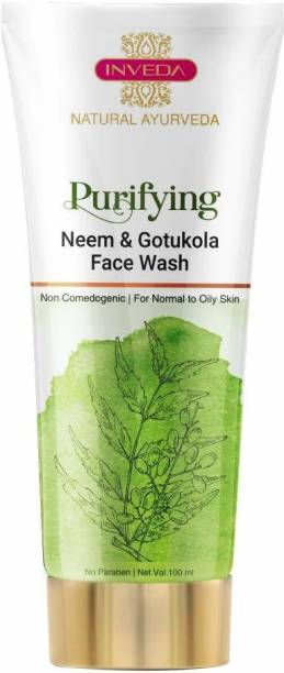 Inveda Purifying Neem & Gotukola  | Anti Acne Face Wash