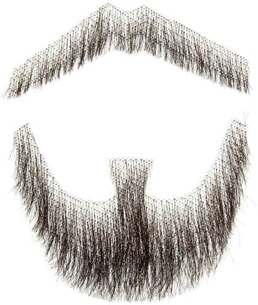 Ritzkart Human  Men's Artificial Beard and Mustache for Acting/Modeling Hair Extension