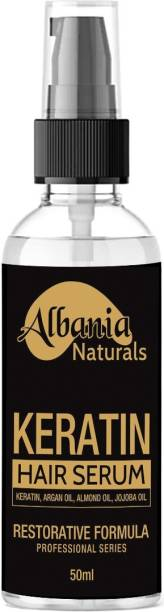 ALBANIA Keratin Strength Hair Serum - with Vitamin E & Oil Argan oil Serum