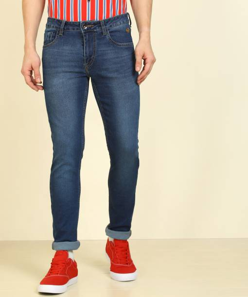 FLYING MACHINE Tapered Fit Men Blue Jeans