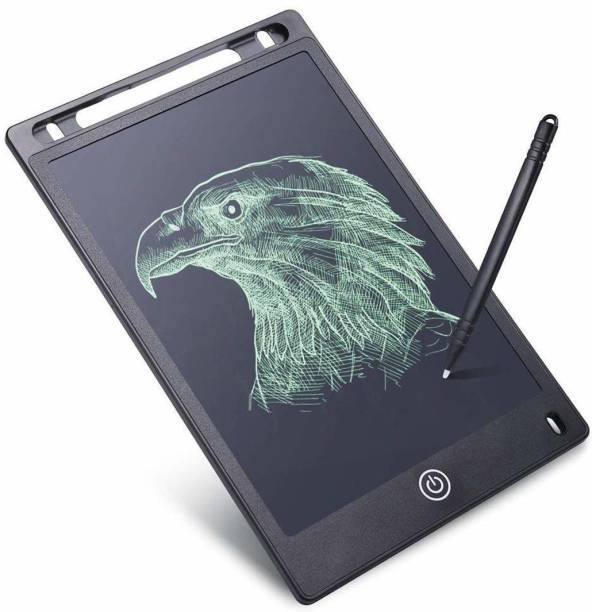 OLIPIZ ENTERPRISE Magic Sketch Drawing Pad | Light Up LED Glow Board | Draw, Sketch, Create, Doodle, Art, Write, Learning Tablet | Includes 3 Dual Side Markets, 30 Stencils and 8 Colorful Effects for Kids