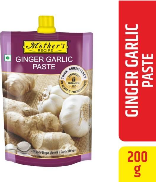 MOTHER'S RECIPE Ginger Garlic Paste