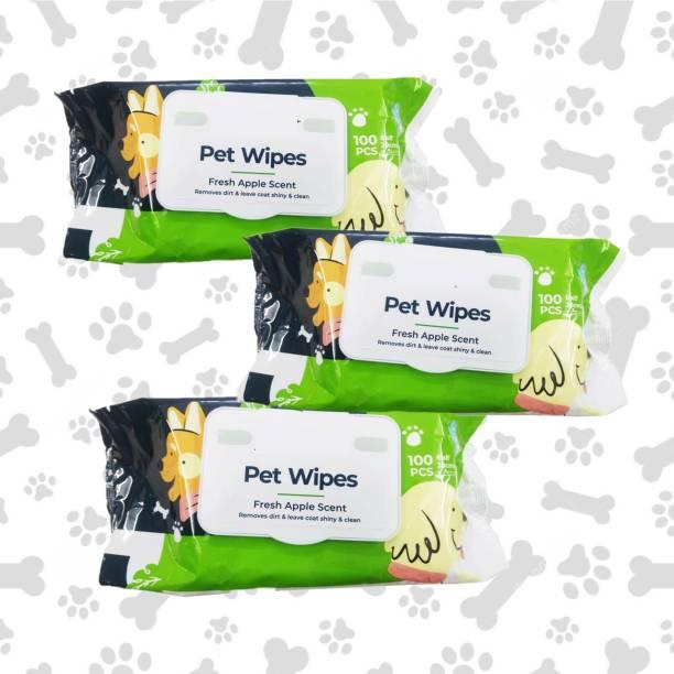 W9 PA-TY-11-P3 Pet Ear Eye Wipes
