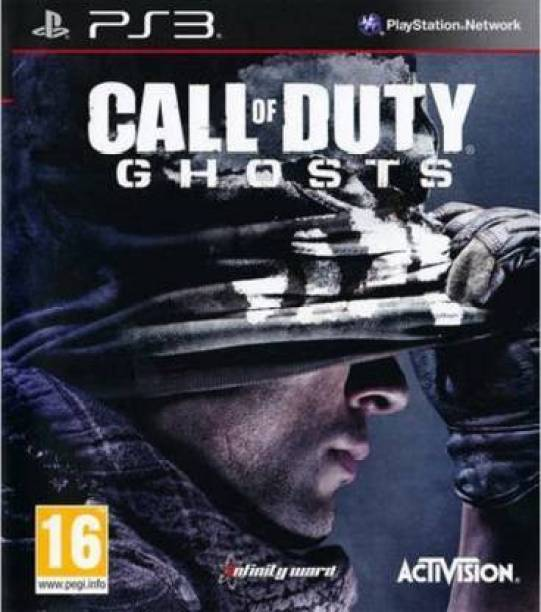 Call Of Duty Ghosts for PS3 only