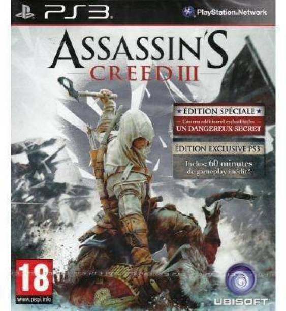 Assassin's Creed III Special Edition (PS3 EXCLUSIVE AND SPECIAL EDITION ) (for PS3) (PS3 EXCLUSIVE AND SPECIAL EDITION)