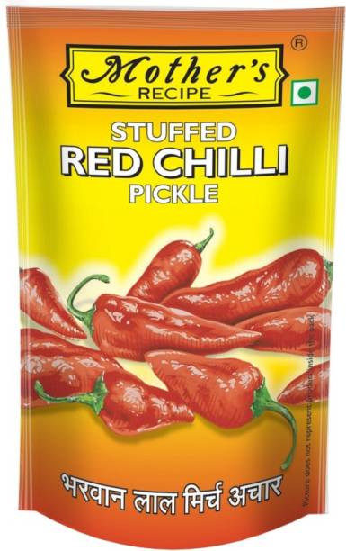 MOTHER'S RECIPE Stuffed Red Chilli Pickle