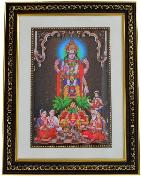 Box2joy Satyanarayan Religious Frame