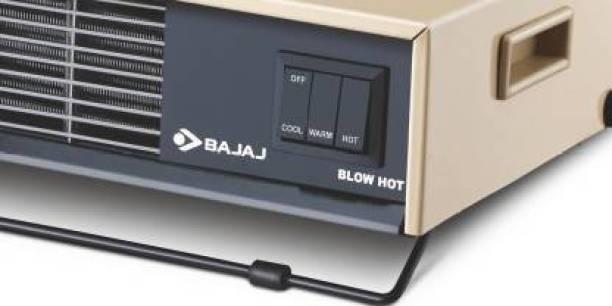 BAJAJ Blow Hot 2000 Watts Fan Forced Circulation Room Heater BAJAJ BLOW HOT ROOM HEATER Fan Room Heater