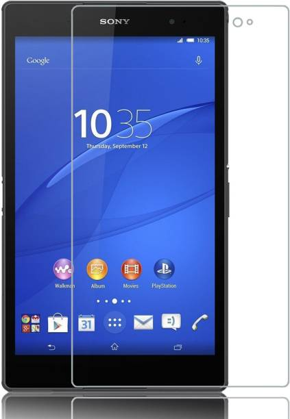 Tuta Tempered Edge To Edge Tempered Glass for Sony Xperia Z3 Tablet Compact LTE 4G (8.0-inch) Tab