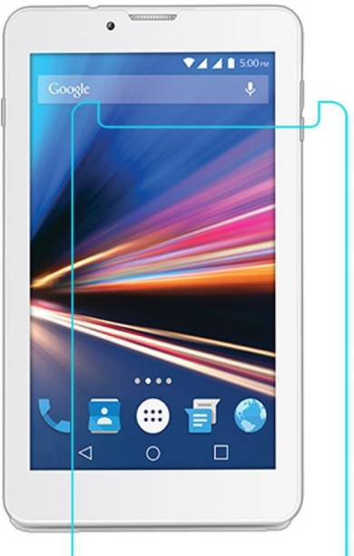 Tuta Tempered Edge To Edge Tempered Glass for Lava IvoryS 4G (7.0-inch) Tab