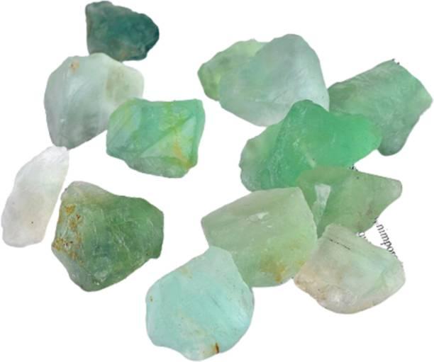 MARKA Green Fluorite Rough Stone Decorative Showpiece  -  2 cm