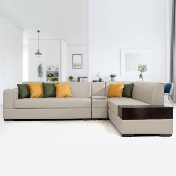 EVOK Alden Leatherette 5 Seater  Sofa