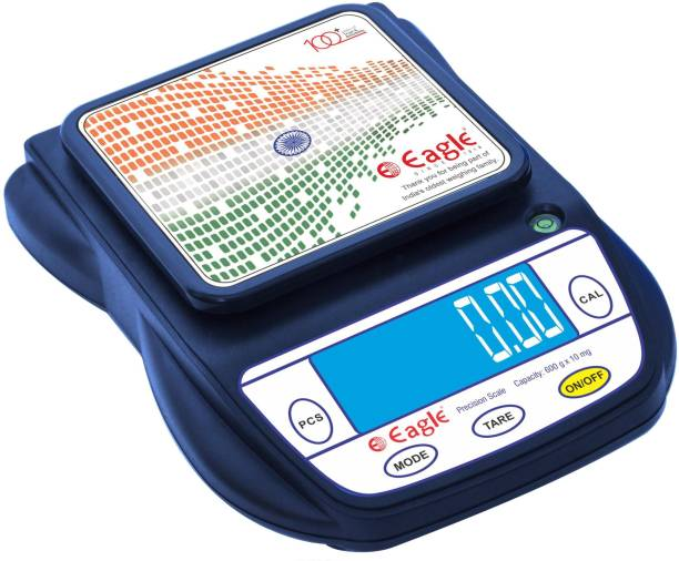 EAGLE PKT-40D High Precision Compact Weighing Scale with Backlight, Deep Blue (600 g, 0.01 g) Weighing Scale
