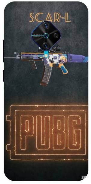 Snapcrowd Back Cover for Vivo s1 Pro/1920 Pubg Scra-l Gun back cover