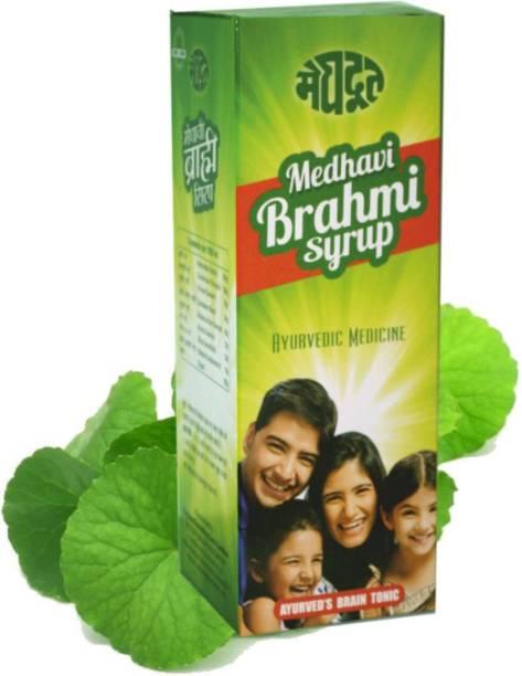 MEGHDOOT Medhavi Brahmi Syrup (Pack of 2)