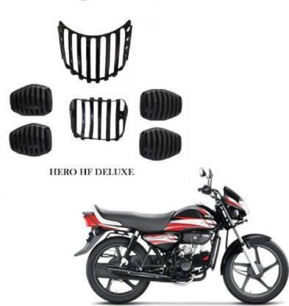 samtech HF Deluxe Bike, Headlight Back, Indicator Grills, Set of-6 Bike Headlight Grill